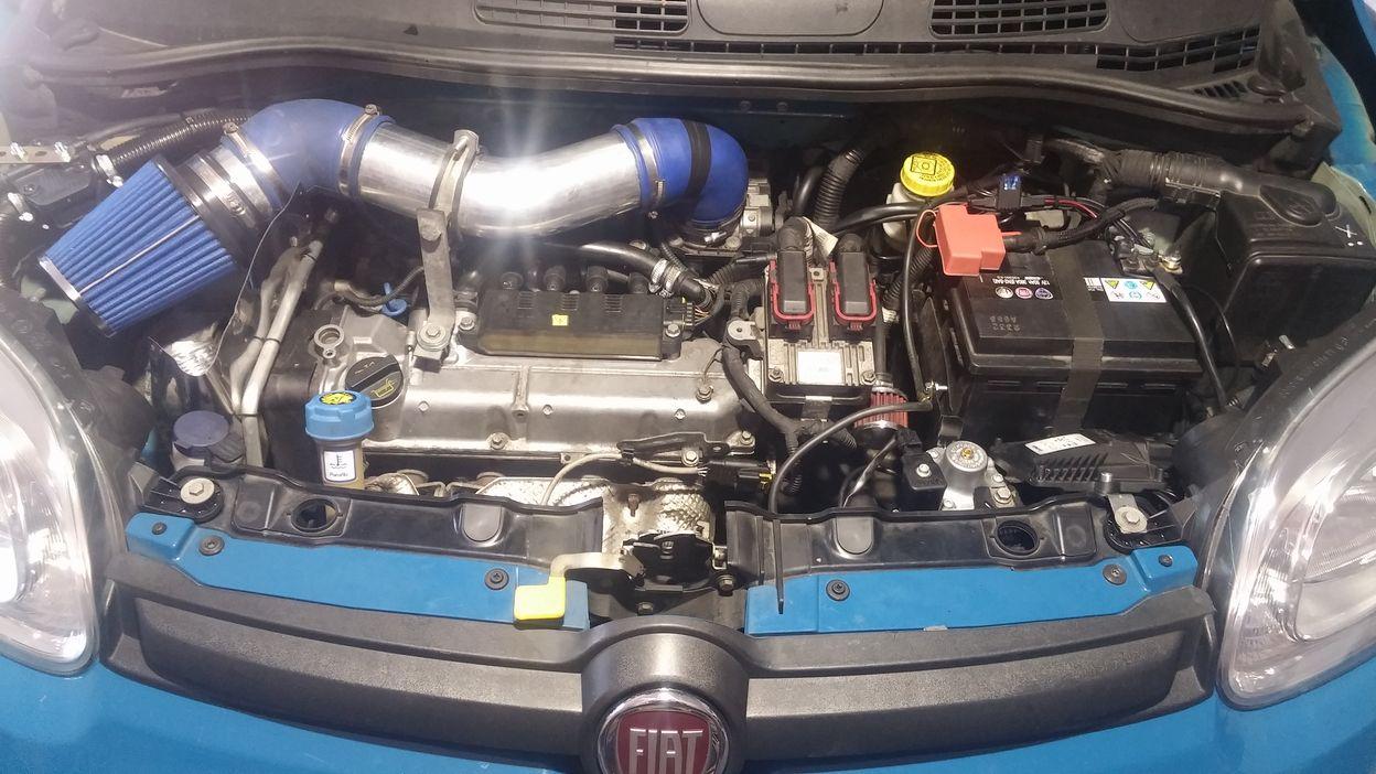 LPG Fiat Panda 1.2, rocznik 2012